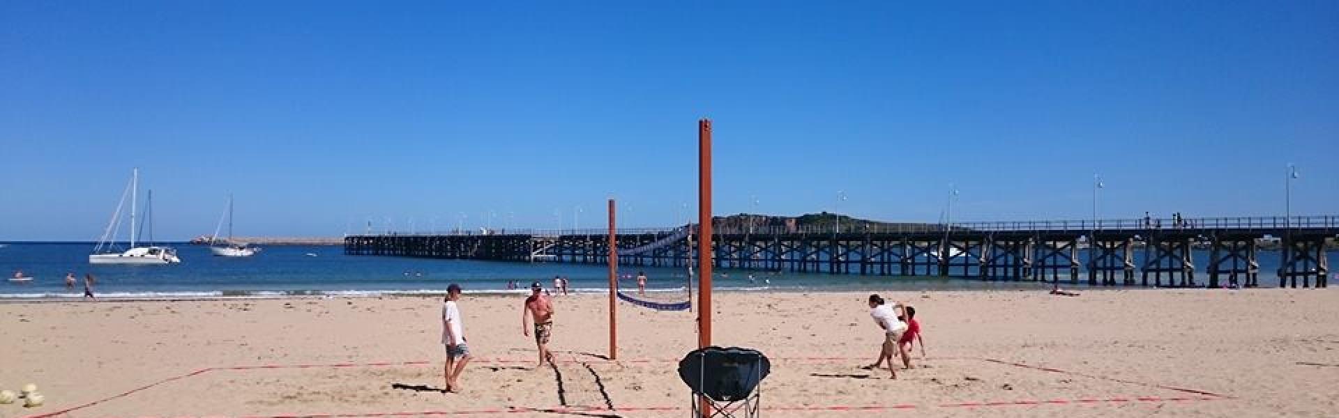 beach court